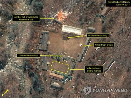 Trailer movement seen at North Korea's nuke test site