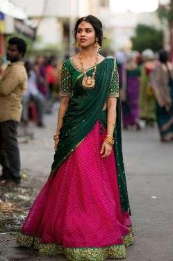 Meenakshi Govindharajan Hd Pics In Half Saree