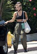 Chloe East In Gym Dress Spotted At A Spin Class In Los Angeles
