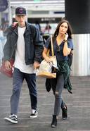 Megan Fox and Machine Gun Kelly Spotted at LAX airport in Los Angeles3