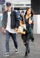 Megan Fox And Machine Gun Kelly Spotted At LAX Airport In Los Angeles