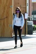 Nina Dobrev Spotted In Los Angeles 3