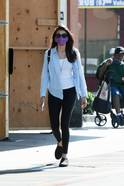 Nina Dobrev Spotted In Los Angeles