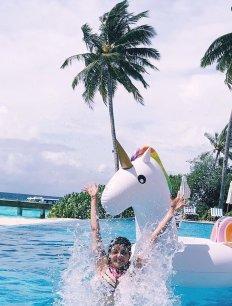 Kajal Aggarwal Hot Pics From Her Maldives Trip15