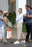 Brooks Nader And Her Husband William Photos From Hamptons New York 13. o 128w 186h