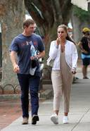 Brooks Nader And Her Husband William Photos From Hamptons New York