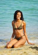 Cindy Bruna Hot Bikini Photos In The Beach Of St. Tropez