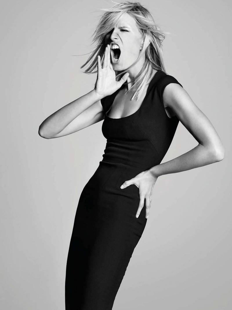 Karolina Kurkova Photoshoot For L'Officiel Italy