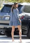 Alessandra Ambrosio Spotted At in Malibu, California