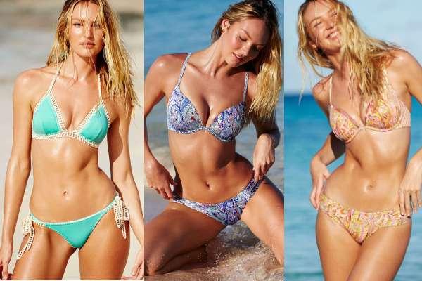 Candice Swanepoel Victoria's Secret bikini collection