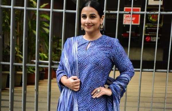 Vidya Balan spotted at Sidharth Roy Kapoor's office in bandra
