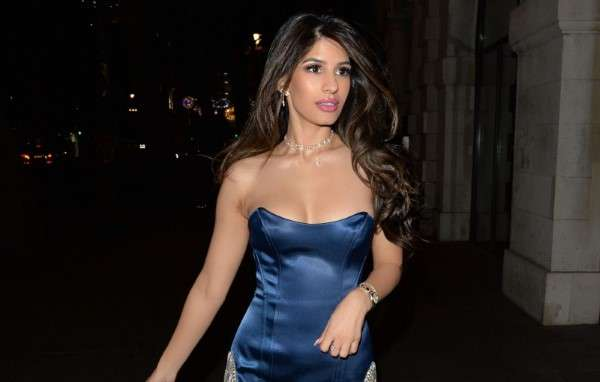 Jasmin Walia Latest Hot Photos at the Ned hotel for a night out in London