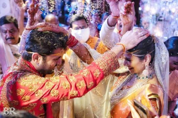 Nithin Shalini Wedding Photos & Pics | Nithin Marriage Function Photos