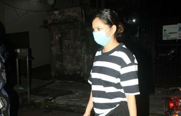 Ankita Lokhabde spotted at andheri
