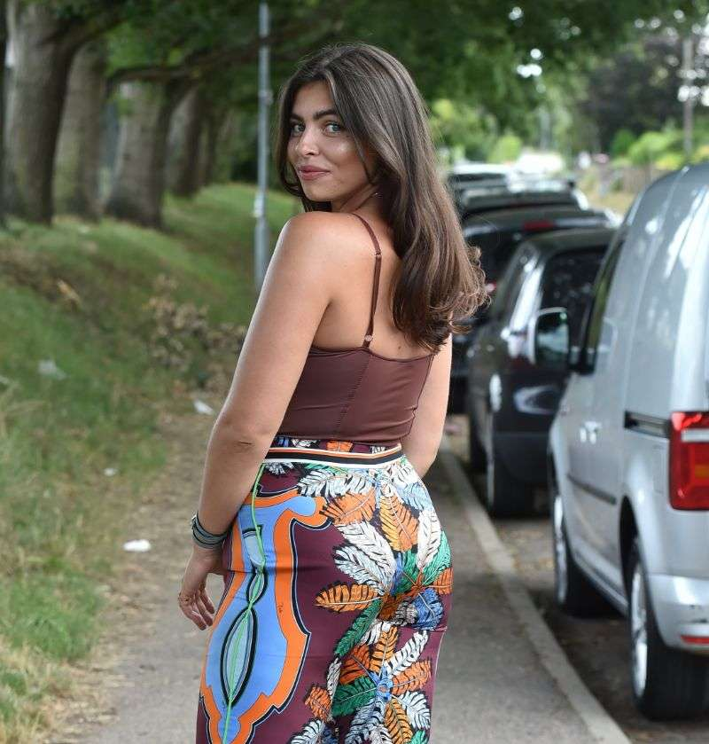 Francesca Allen Photoshoot images in Chigwell
