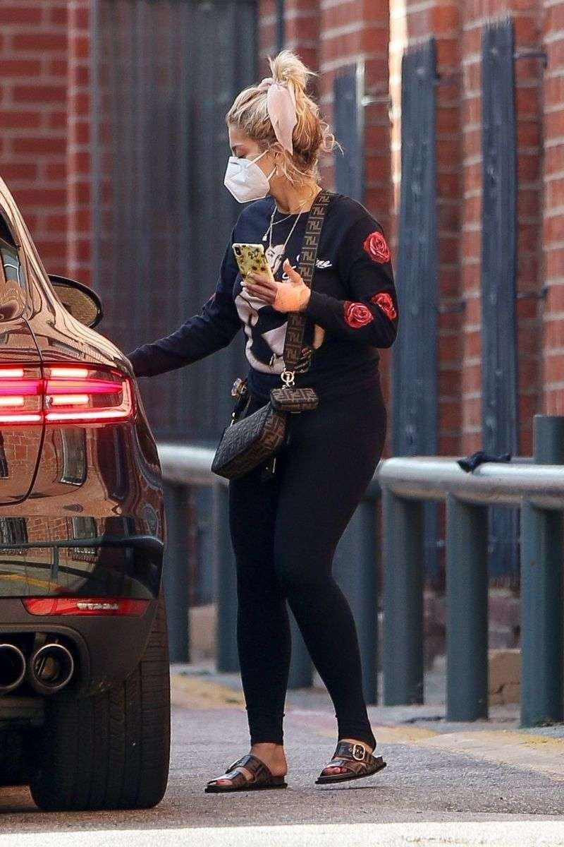 Bebe Rexha Latest Photos And Imgages Leaving a doctor's office in Beverly Hills