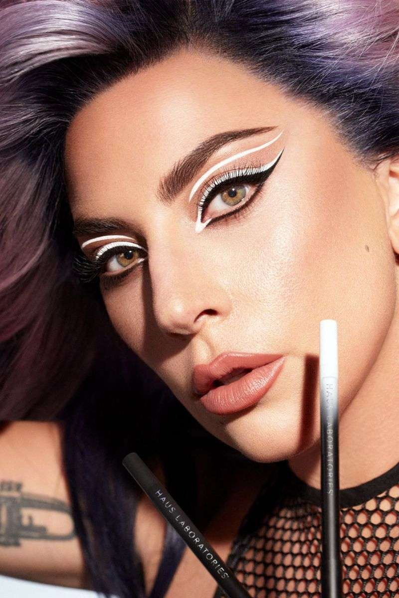 Lady Gaga Latest Photo Shoot For promoting your cosmetics collection
