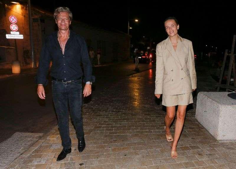 Natasha Poly seen on a stroll in Saint Tropez
