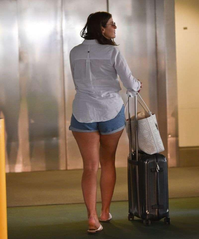 Imogen Thomas Latest Hot Photos at Gatwick airport