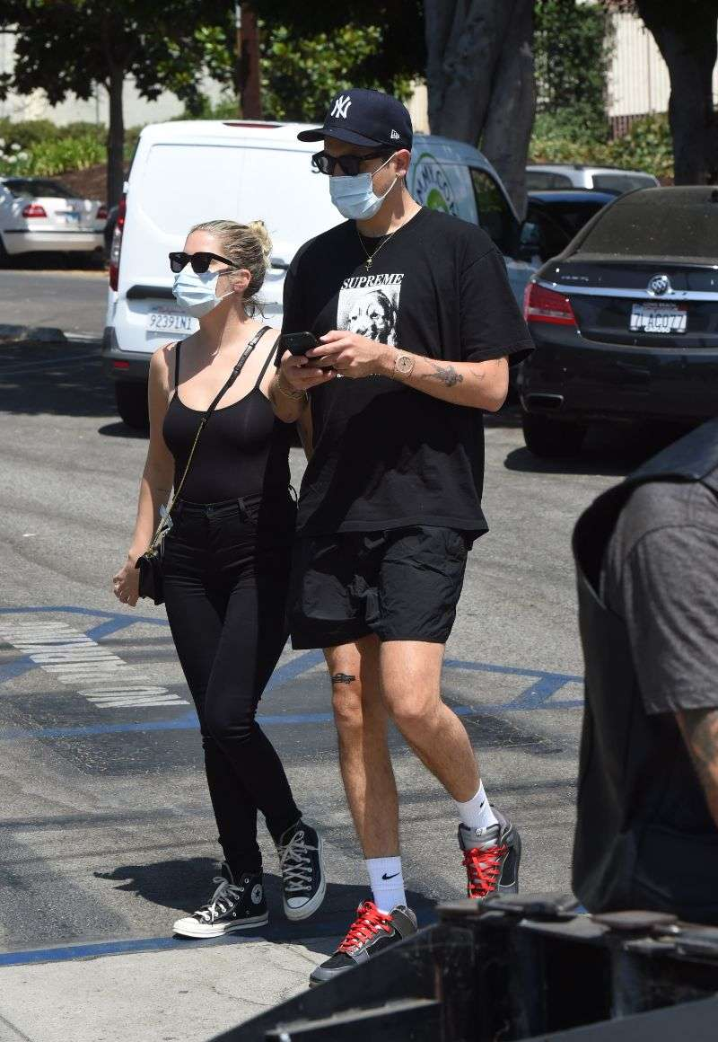Ashley Benson Does some shopping at the Le Labo perfume store in Los Angeles