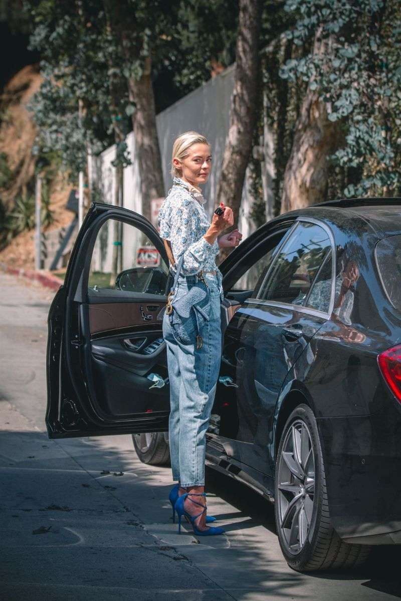 Jaime King Seen stepping out in Los Angeles