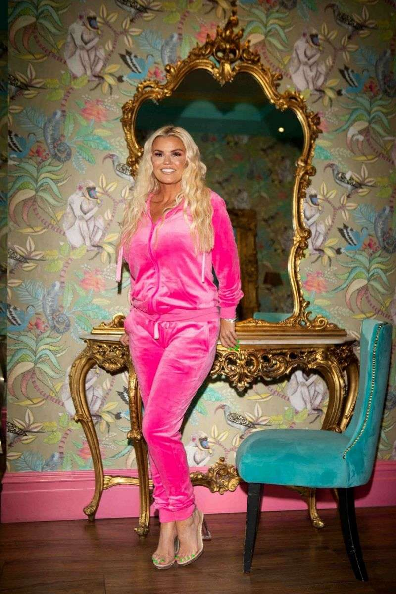 Kerry Katona models her brand new clothing line with the infamous JYY London Range