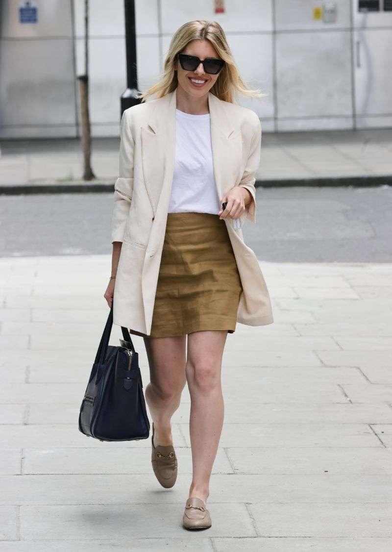 Mollie King Latest photos at BBC studios in London