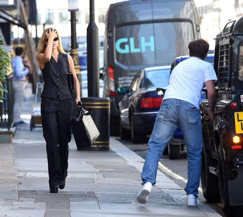 Nicola Peltz flashes her £350,000 engagement ring in London