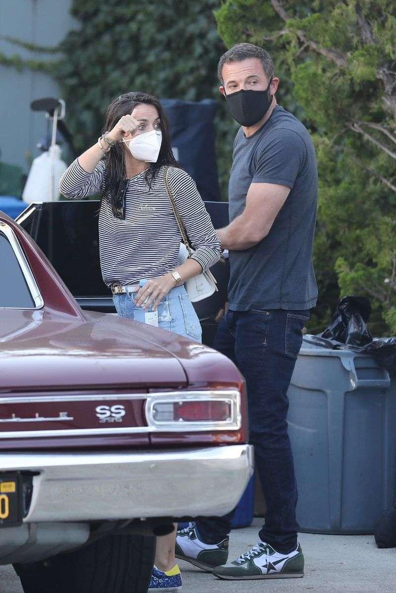 Ana de Armas Leaves a photoshoot in Malibu