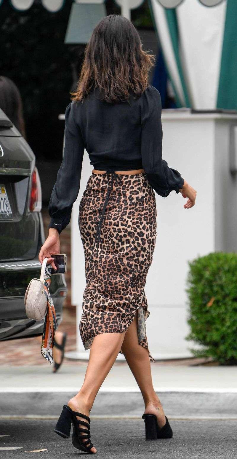 Eiza Gonzalez Hot Pics in Black Dress in Los Angeles Hd