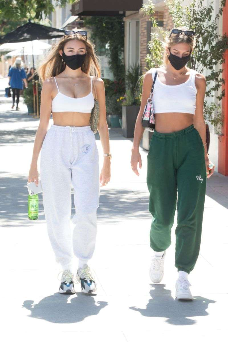 Madison Beer Hot HD Pictures with her friend in Beverly Hills