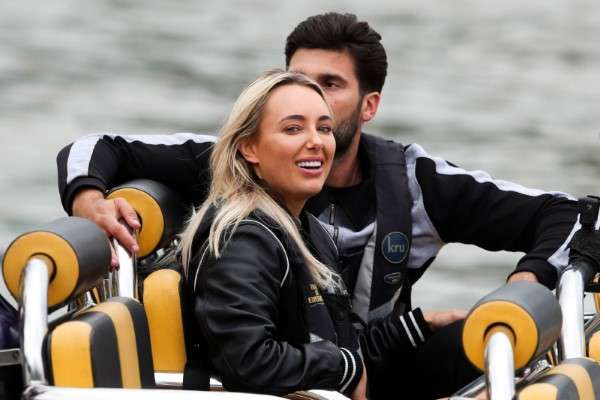 Amber Turner 'The Only Way is Essex' TV show filming London HD Photos