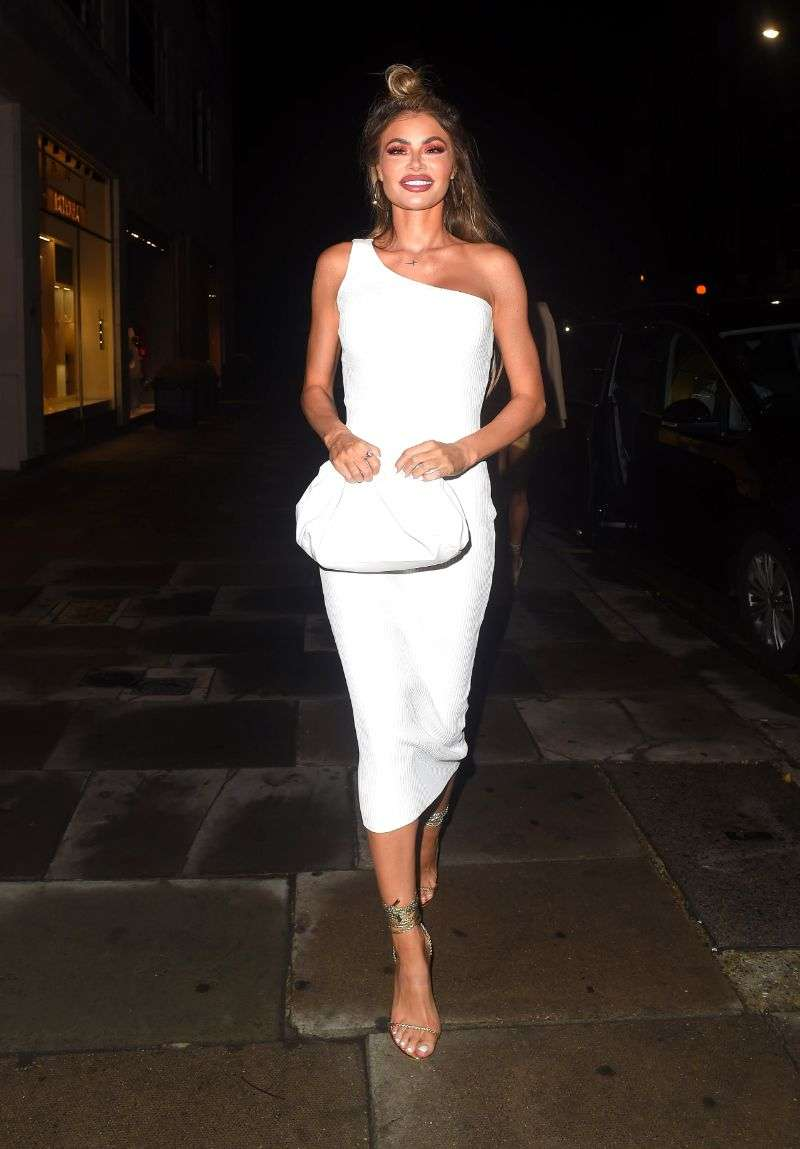 Demi Sims Georgia Kousoulou and Chloe Sims seen arriving at Sumosan Twiga in Londo HD Photos