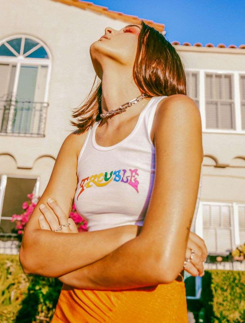 Charlotte Lawrence Brent McKeever photoshoot for Galore Magazine HD