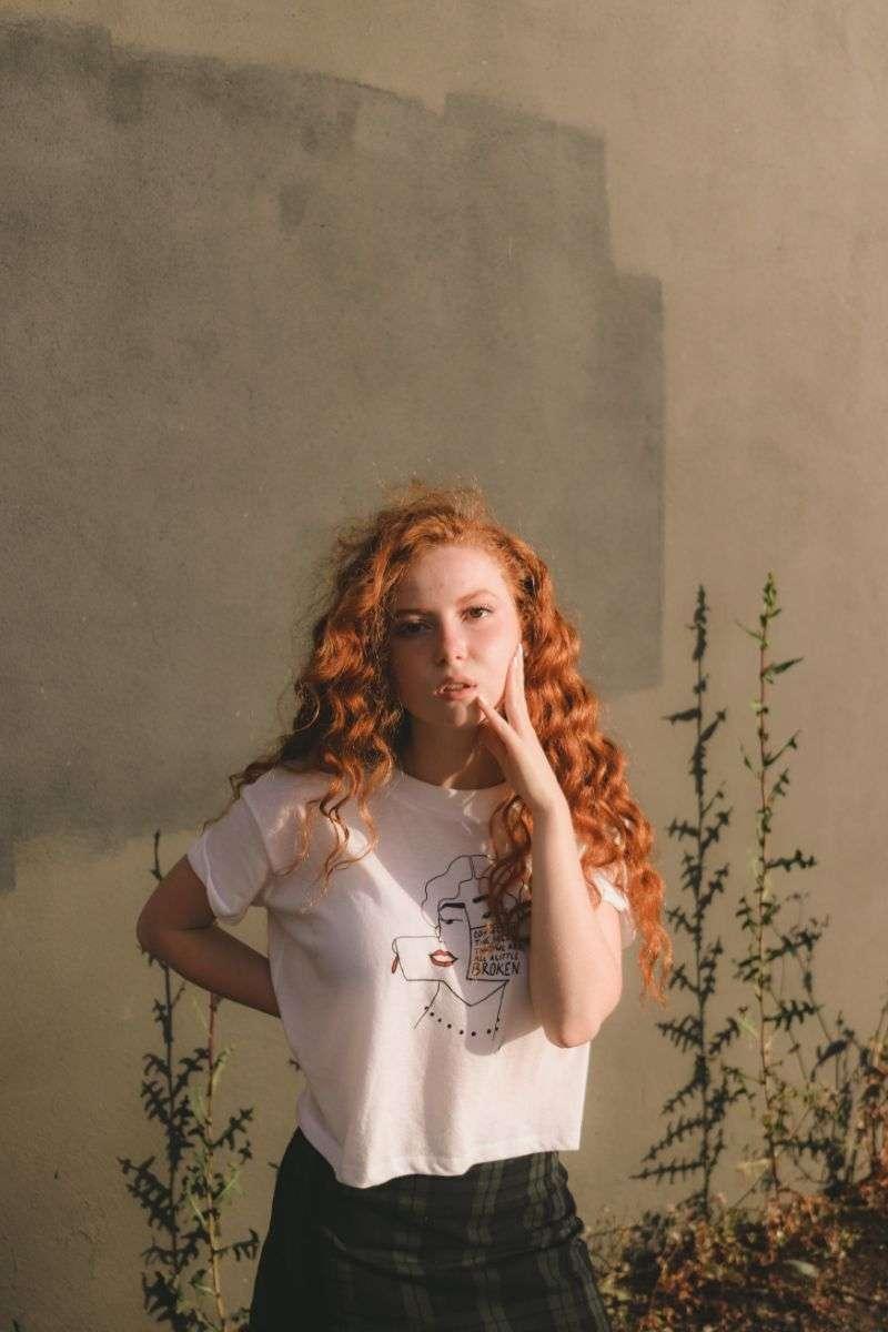 Francesca Capaldi Photo Shoot Stills For The ArtJive 2020