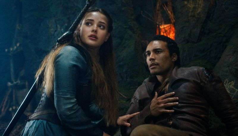 Katherine Langford HD Photos In Cursed (2020)
