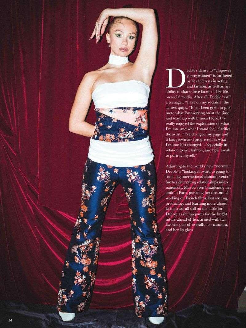 Olivia Deeble Hot Photo shoot For BODE Magazine August 2020