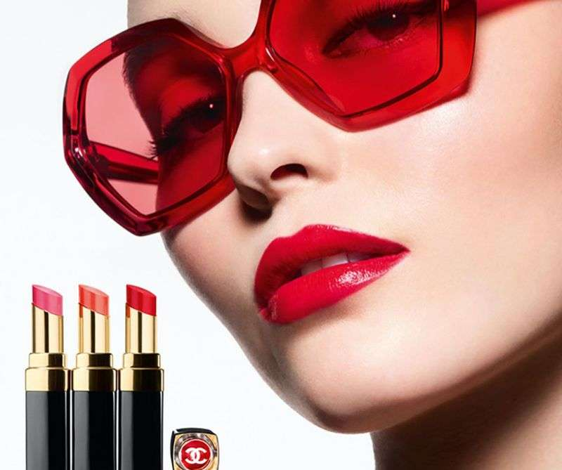 Lily Rose Depp is the face of Chanel's Rouge Coco Flash lipstick campaign HD
