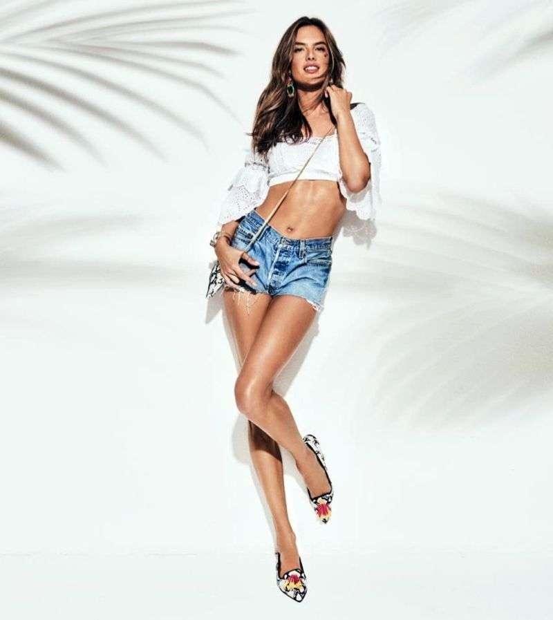 Alessandra Ambrosio Hot PhotoShoot For Pretty Ballerinas Spring Summer Campaign HD