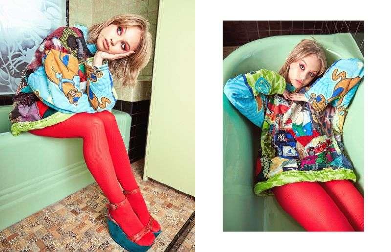 Olivia Deeble Lauren Schulz photoshoot for Schon Magazine 2020 HD