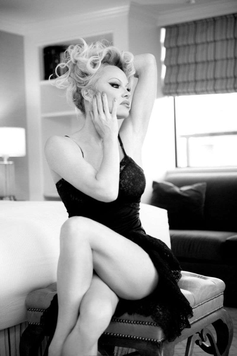 Pamela Anderson PhotoShoot Stills For Gordan Dumka HD