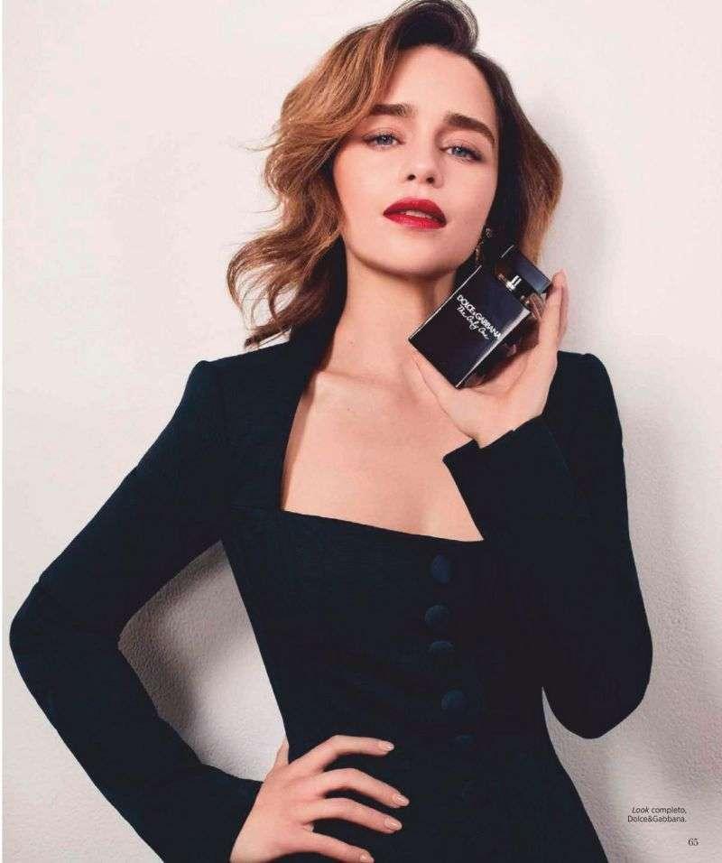 Emilia Clarke Photoshoot Pics For Harper's Bazaar Magazine Mexico 2020