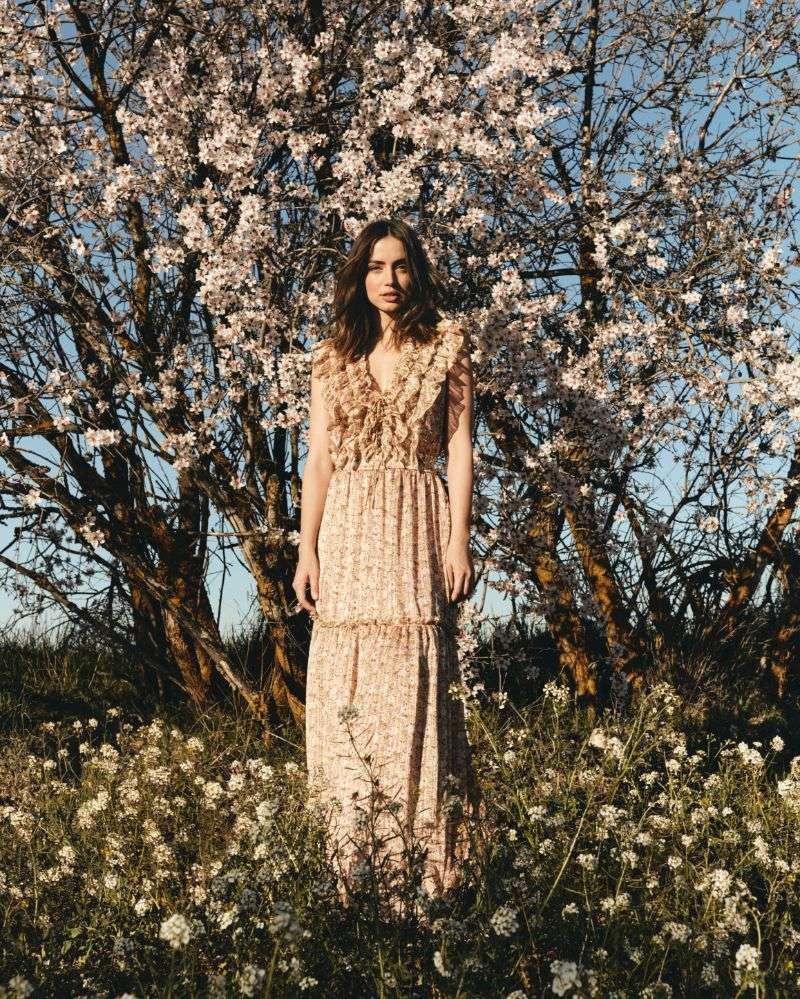 Ana de Armas PhotoSHoot For El Corte Inglés Spring 2020 HD