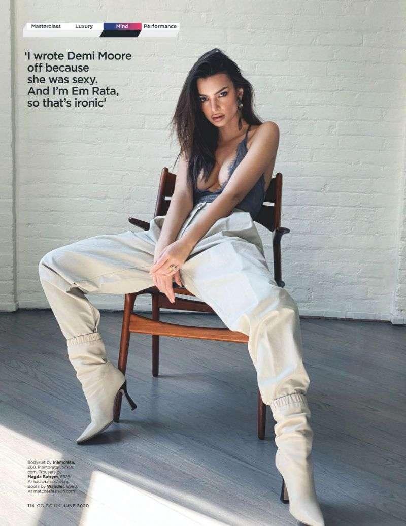 Emily Ratajkowski Hot PhotoShoot Pics For GQ UK 2020 HD