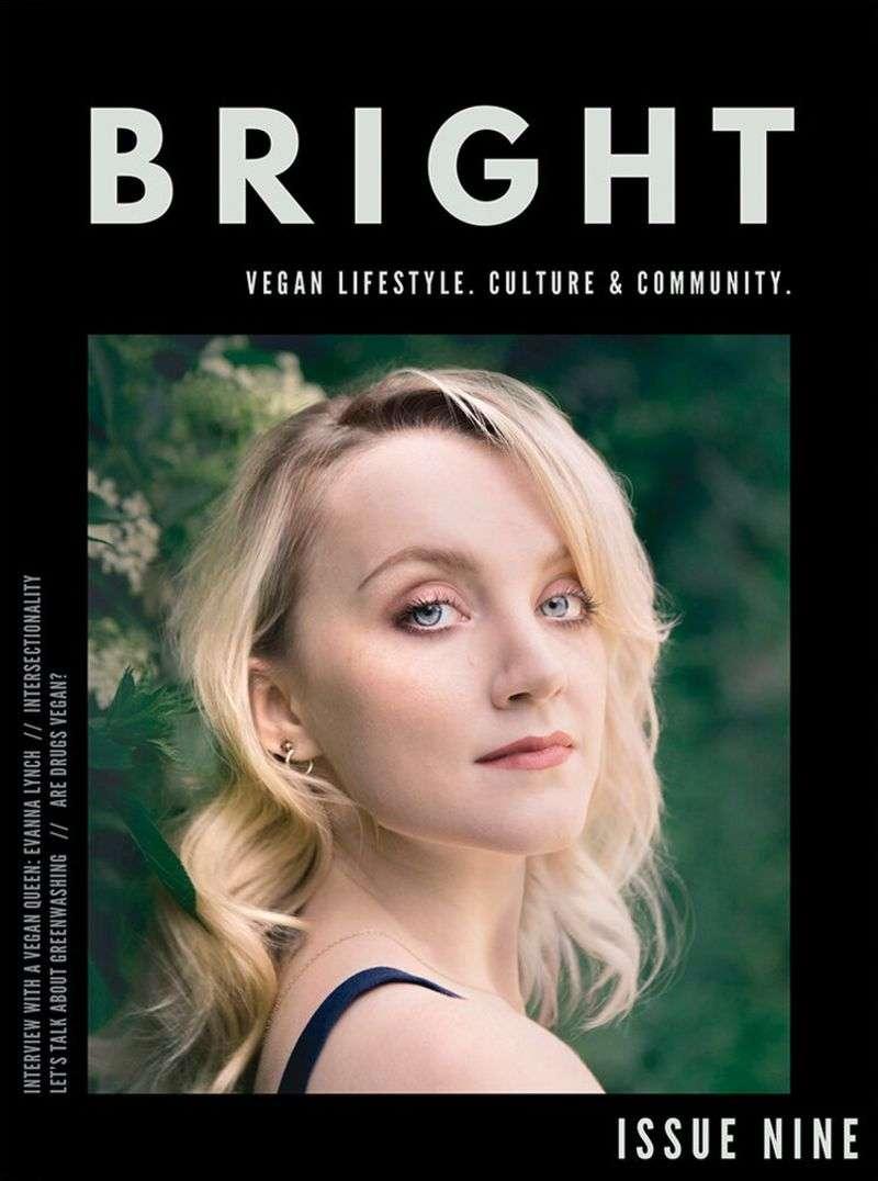 Evanna Lynch Bright Magazine May 2020 HD