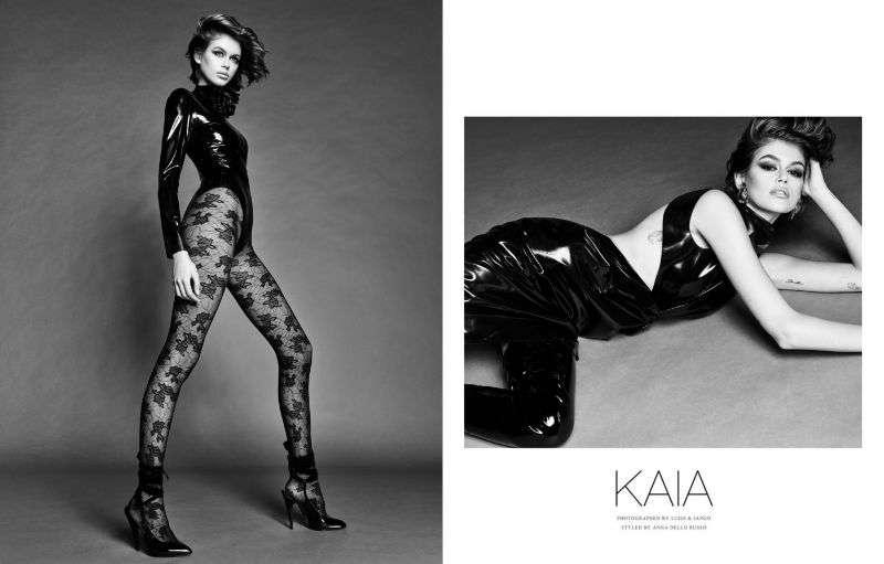 Kaia Gerber Hot PhotoShoot Luigi & Iango For Vogue Japan 2020 HD