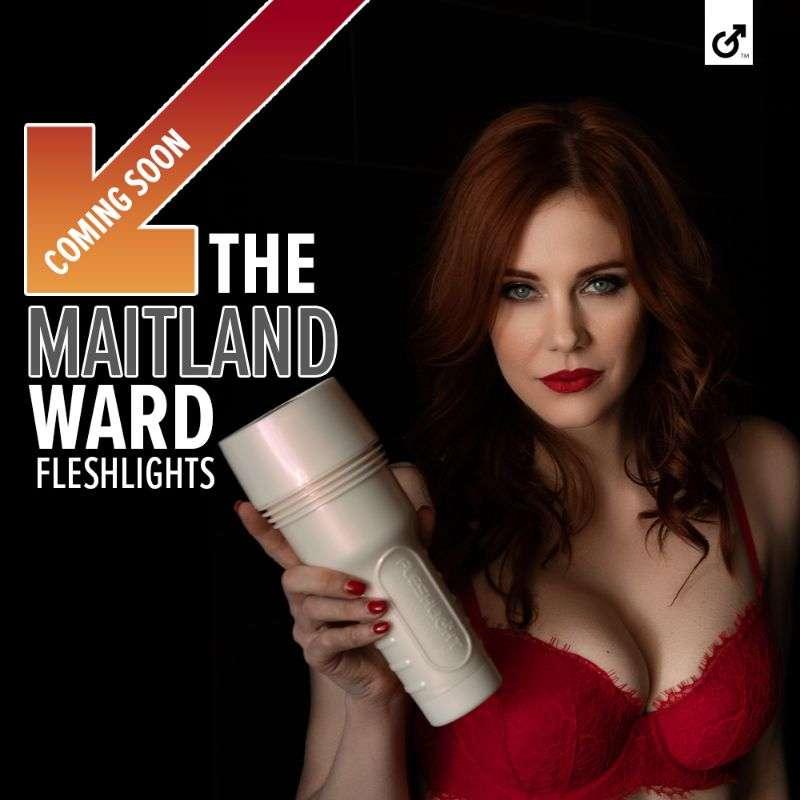 Maitland Ward is the new 'face' of Fleshlight Hot PhtoShoot HD