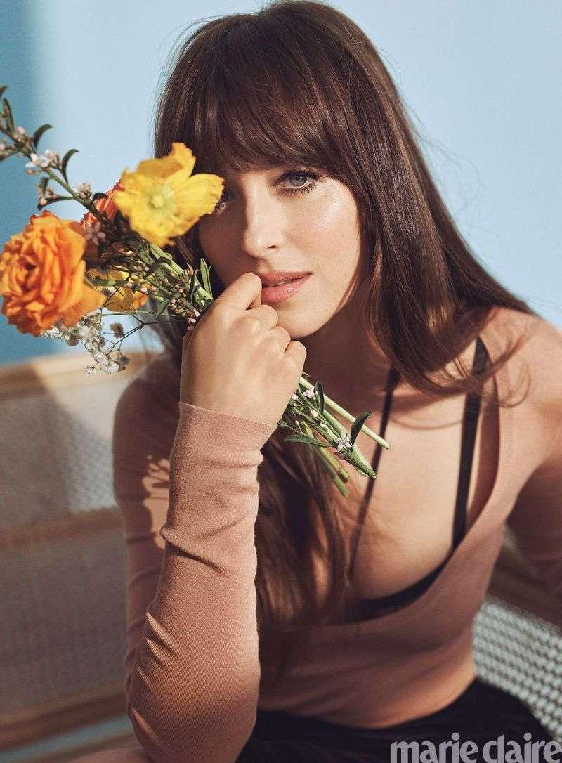 Dakota Johnson Hot PhotoShoot For Marie Claire Summer 2020 HD