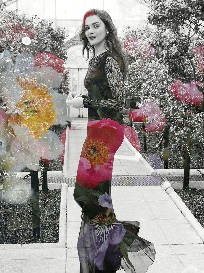Rachel Weisz Hot PhotoShoot For Harper's Bazaar UK 2020 HD
