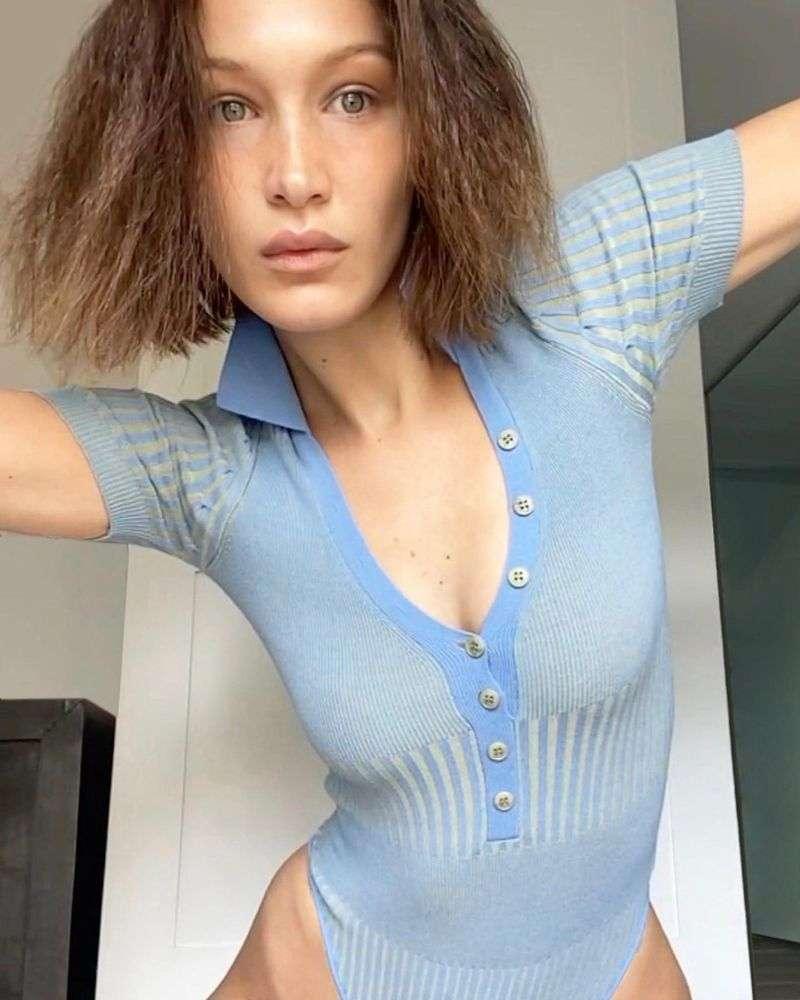 Bella Hadid Hot PhotoShoot Gallery Jacquemus at home 2020 HD